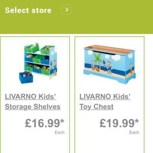 Kids storage unit lidl £16.99