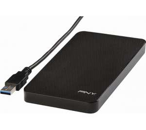 "2.5"" PNY HDD Enclosure - USB 3.0 + SSD Mounting Kit + Acronis £9.99 @ PCWorld"
