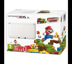 3ds XL limited edition £129 from Tesco Direct with Super Mario pre loaded