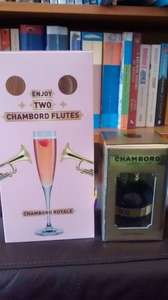 Free Chambord Flutes with bottle of Chambord £7.50 @ Asda