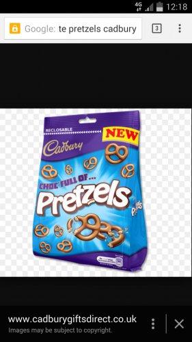 Cadburys pretzels and Bitsa wispa bags, buy 1 get 1 free....... £1 @ Farmfoods
