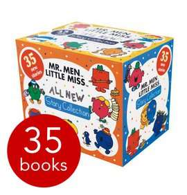 Mr Men & Little Miss All New Story Collection - 35 Books £12.75 (with codes) @ The Book People