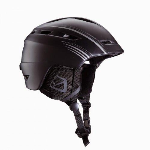 Crane adult Ski & Snowboard Helmet (black/silver) £7 @ Aldi
