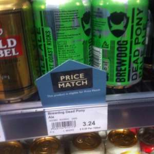 Cheap Brewdog 4 cans for £3.24 @ Booths