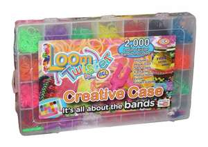 Loom Twister creative case 2000+ free 500 bands ASDA the Jewel £2 in Store and online  Cra-Z-Loom Bands Maker for £5