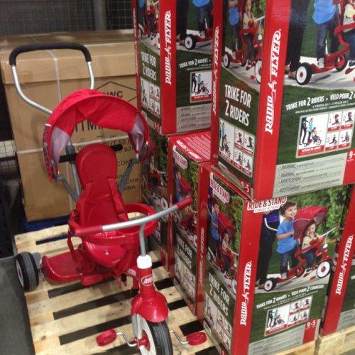 Radio Flyer Stand & Ride Trike £59.99 inc. VAT @ Costco