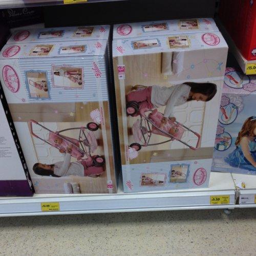 Baby Annabell Dolls Pushchair Pram Jogger £12.00 @ Tesco Instore