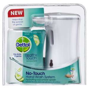 Dettol No Touch  Automatic Hand-washing System With Refill + 4 AA Batteries £1 @ Poundland