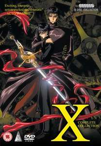 """X"" Complete Collection on DVD (6 discs) £9.99 @ Anime-On-Line"