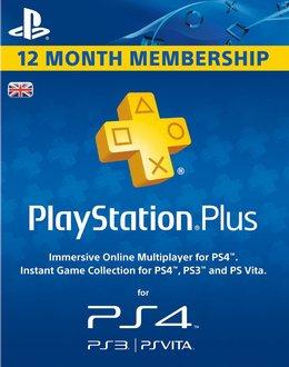 Playstation Plus 12 Month Membership £32.00 (Using Code) @ Shopto Via Rakuten