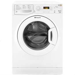 hot point 8kg washing machine £259 + £25 cash back + 10.5% tcb @ Ao.com