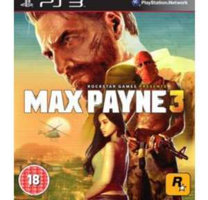 Max Payne 3 ps3 £3.00 @ Tesco Direct
