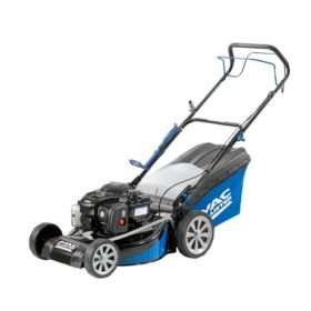 Mac Allister SP46 140cc self-propelled mower at B&Q, reduced to £210