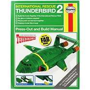 Thunderbird 2 - Press Out And Build Manual / Wallace and Gromit - Wrong Trousers £3.99 @ The Works