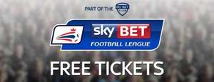 Free Sky Bet Championship and League One Tickets