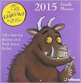 Gruffalo 2015 Calendar Family Planner £2.50 @ Tesco instore