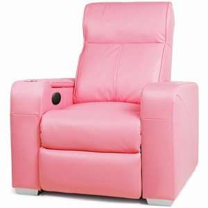 A Valentines gift for her. Premiere home cinema chair in PINK. Includes 5 massage points including heat, beverage cooler/warmer etc etc. - £1299.00 @ DrinkStuff