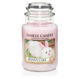 Yankee Candle Bunny Cake Large Jar £9.99 plus £1.99 delivery @ Yankee Doodle