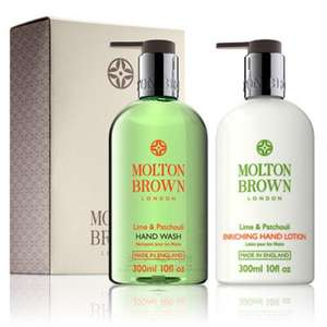 Molton Brown Lime & Patchouli Set/Molton Brown Pomegranate & Ginger and Mulberry & Thyme Set £15.41 Delivered @ Fragrance Expert (Using Code)