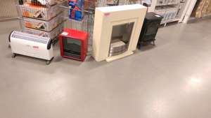 Ex-Display Heaters & Electric Fires Clearance Ranging From £5 @ B&Q