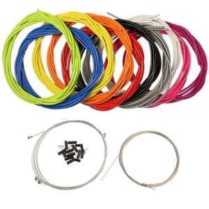 Jagwire brake and gear cable set Multiple colours! 6.49 @ Koo-Bikes.com