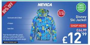 Nevica Disney Ski Jacket Infants RRP £64.99 Now £12.99 + £3.99 Delivery @ Field & Trek (£16.98)
