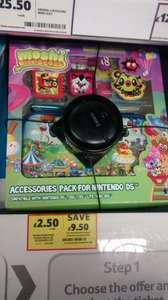 Moshi Monsters Accessories Pack for Nintendo Ds and compatible with all others. £2.50 at Tesco instore :)