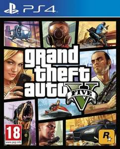 Grand Theft Auto V (PS4) £30.90 with code and selected pre-owned blu-ray, Rakuten/TheGameCollection