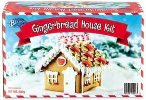 Aldi Prebuilt Gingerbread House kit 19p reduced from £7.50