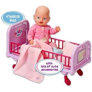 Baby born doctor medical bed NOW 13.99 @ ARGOS