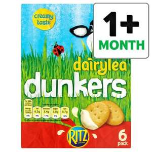 Dairylea Dunkers Ritz 6 pack now only £2 at Tesco