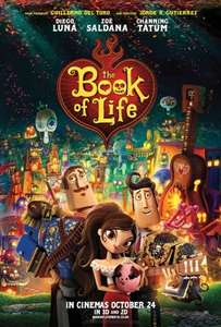The Book Of Life / The Boxtrolls only £1.35 pp during Feb Half Term @ Cineworld