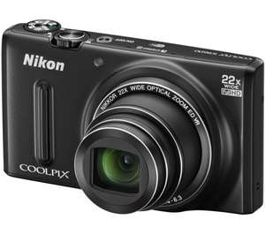 Nikon Coolpix S9600 Compact Digital Camera - Black - £109 @ John Lewis