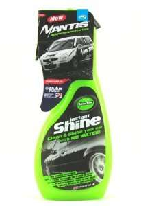 JML Mantis Instant Shine Spray Waterless Cleaner & Gloss £1.99 @ Home Bargains
