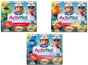 ** Actimel For Kids Pack of 6 - Pay £1.14 @ Tesco & get £1.00 cashback with ClickSnap ** Plus FREE £2 Worth of Danone Vouchers