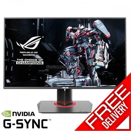 "Asus PG278Q ROG Swift 27"" G-Sync 144Hz Gaming Widescreen LED Slim Bezel Monitor - Black/Red - £611.99 Delivered @ OCUK"