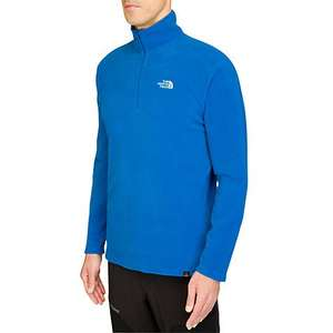 The North Face Glacier 100 1/4 Zip Fleece £25 John Lewis (SNORKEL BLUE)
