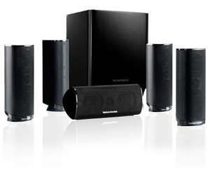 Harman Kardon HKTS 16 (5.1 channel Home Theatre Speaker System) £299.99 @ amazon (check link in comments for detailed specs) also check comments #30 for bass improvement tip.
