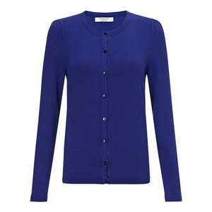 Long sleeve ladies blue cardigan, size S, M, L & XL, £11 from £39 @ John Lewis