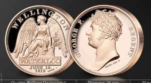 FREE Waterloo Campaign Medal £2.50 P&P @ London Mint Office