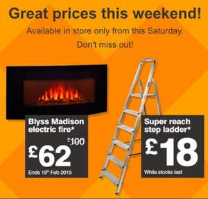 B&Q weekend sale - Super Reach Step Ladder only £18 @ B&Q