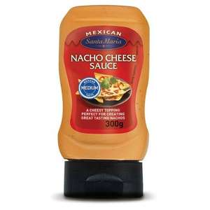 2 x Santa Maria Nacho Cheese Sauce 300g for £3 @ Morrisons