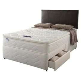 Silentnight Miracoil Pillowtop Fiji King 2 Drawer Divan Set £349.00 + 20% off code making it £279.00 +£7.99 del charge at Tesco Direct