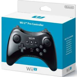 Official Nintendo Wii U Pro Controller Black £30 Delivered from Rakuten using FEBGIFT10 (GameSeek)