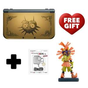 New Nintendo 3DS XL Majoras Mask 3D Edition w/ Skull Kid Figure £209.99 @ Nintendo Store More Stock!