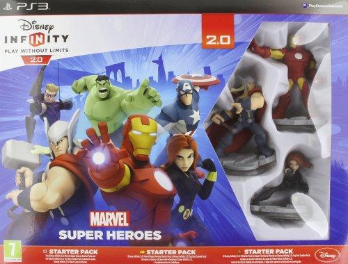 Disney Infinity 2.0 Marvel Superheroes Starter Pack (PS3) - £22.85 @ Amazon