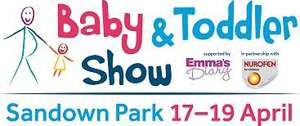 Free tickets to the Baby & Toddler Show Sandown Park (Surrey)