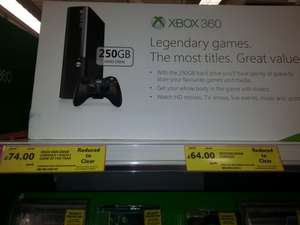 X box 360 back  in Stock at a reduced  price £74 instore at Tesco Cheshunt