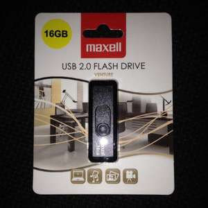 Maxwell 16gb USB flash drive £2.50 @ B&M