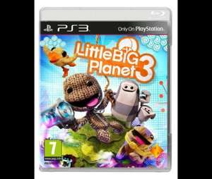 LITTLE BIG PLANET 3 PS3 TESCO DIRECT AND AMAZON £25